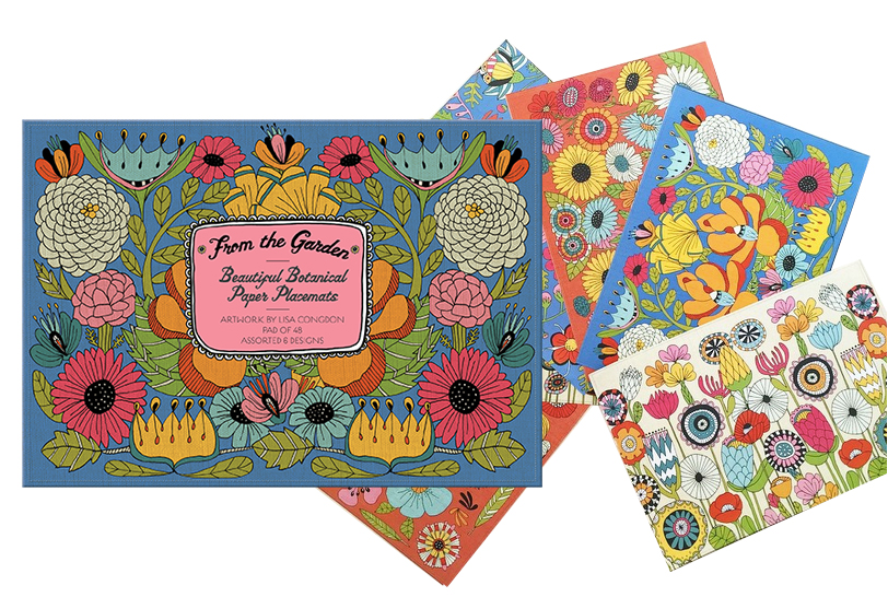 Paper Placemats, Gift Design,