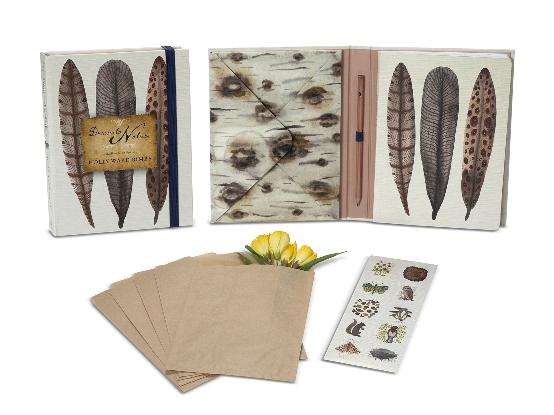 Nature Journal. This is a stationery and gift paper product journal. Designed by Heidi North