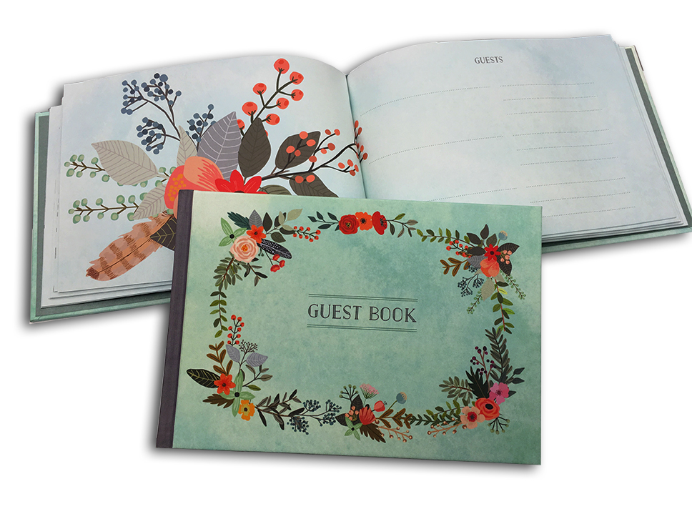 Have a special occasion? Use a guest book for your friends and family. Weddings, Bat Mitvah's, Bar Mitvah's