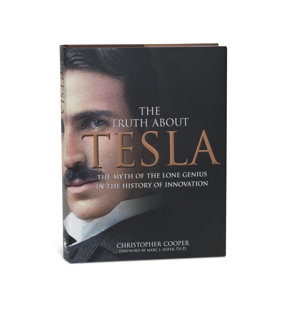 Tesla book jacket