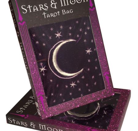 "<p style=""text-align: center;""> Stars & Moon Tarot Bag"