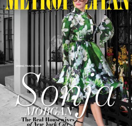 Metropolitan Magazine Sonja Morgan and Tamsen Fadal